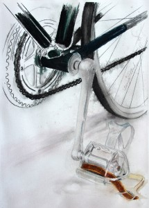 Centurion bicycle art prints