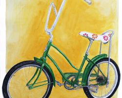 Banana Bike sports art